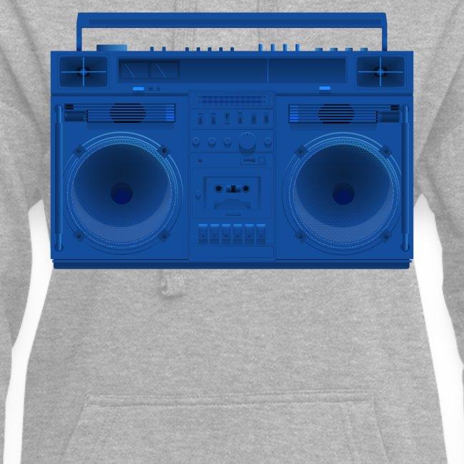 Bestes Stereo blau Design online