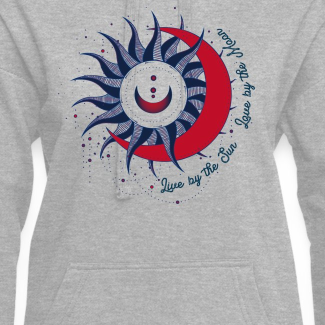 Sonne Mond Design Live by the sun Love by the moon