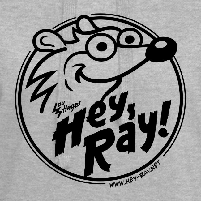 Hey Ray Logo black