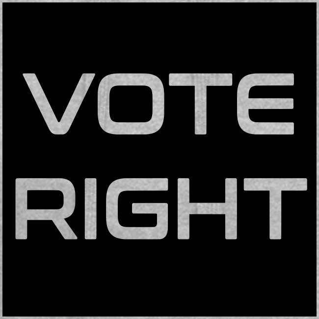 vote right