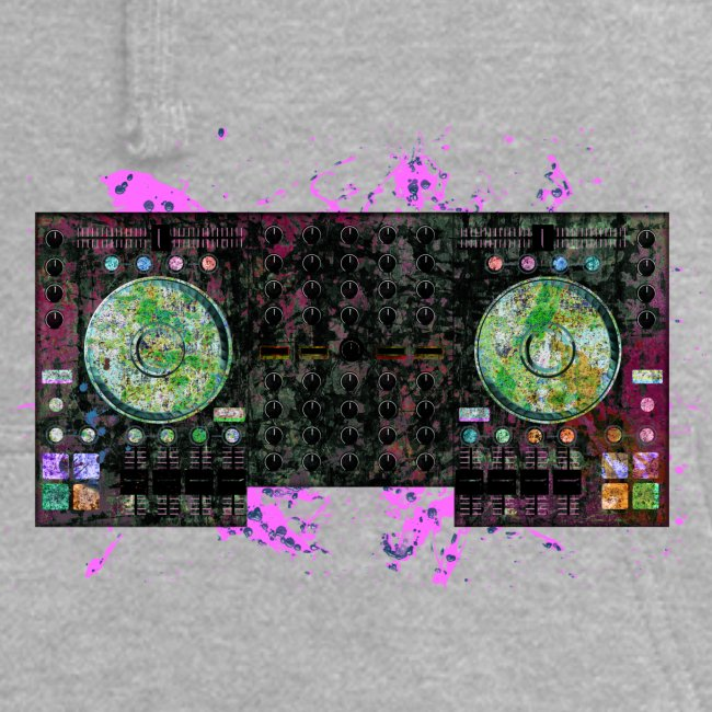 T-shirts design electronic music