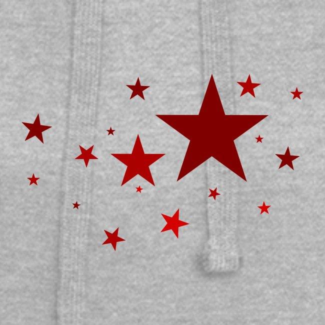 Sterne in Rot
