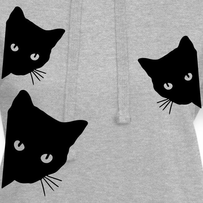 Vorschau: cats - Hoodie-Kleid