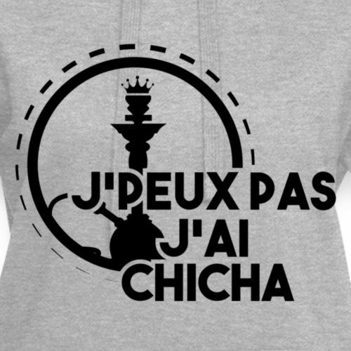 J'PEUX PAS J'AI CHICHA BLACK + IG - Sweat-shirt à capuche long Femme