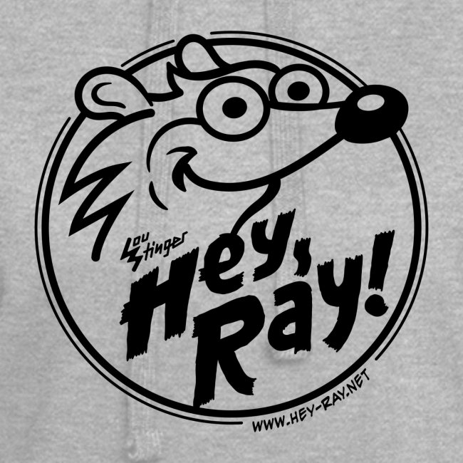 Hey Ray Logo black
