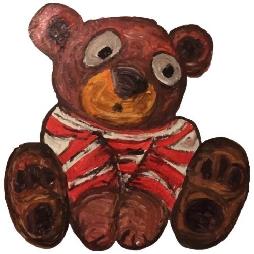 Teddy bear - Vestitino con cappuccio