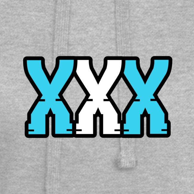 XXX (Blue + White)