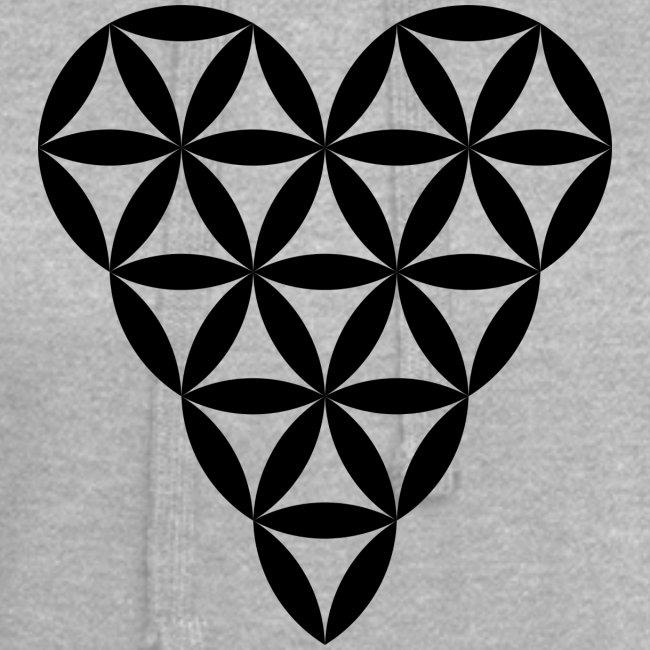 Heart of Life - Heart Symbol - Black