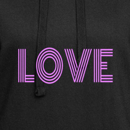 LOVE - Vestitino con cappuccio