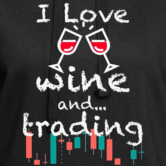 Trader Forex Wallstreet Stock market RedWine Glass