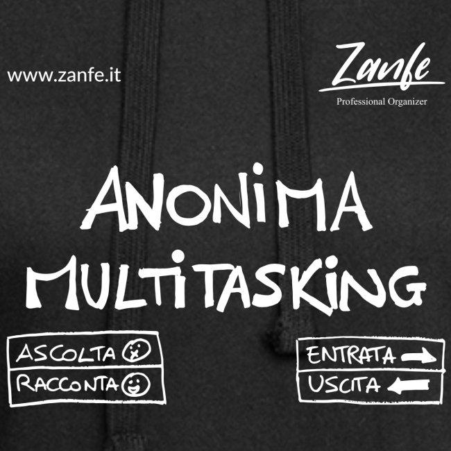 Anonima Multitasking (Bianco)