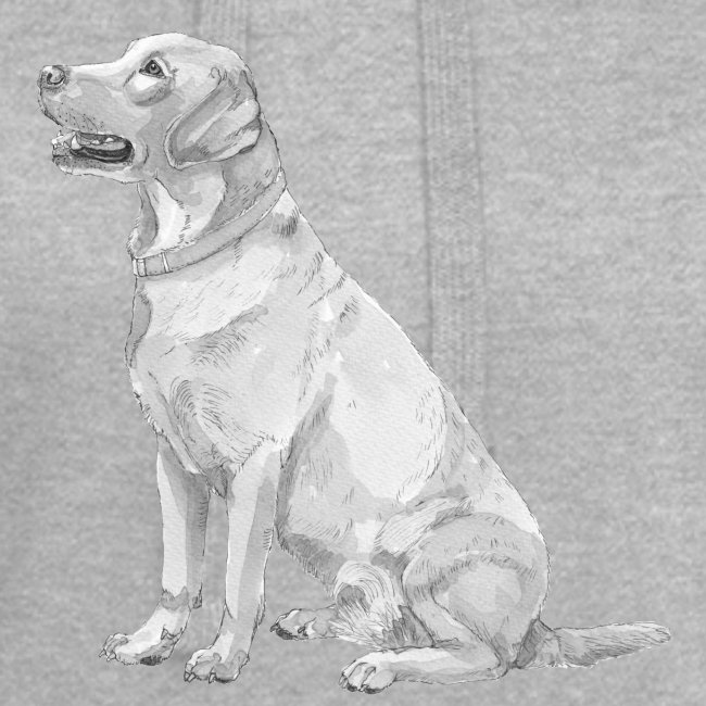 labrador Retriever Yellow - Ink