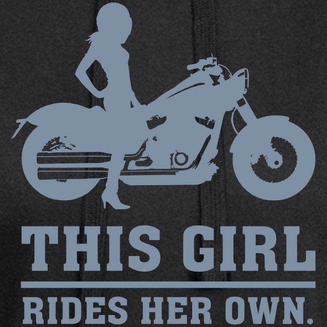 This Girl rides her own - Custom bike