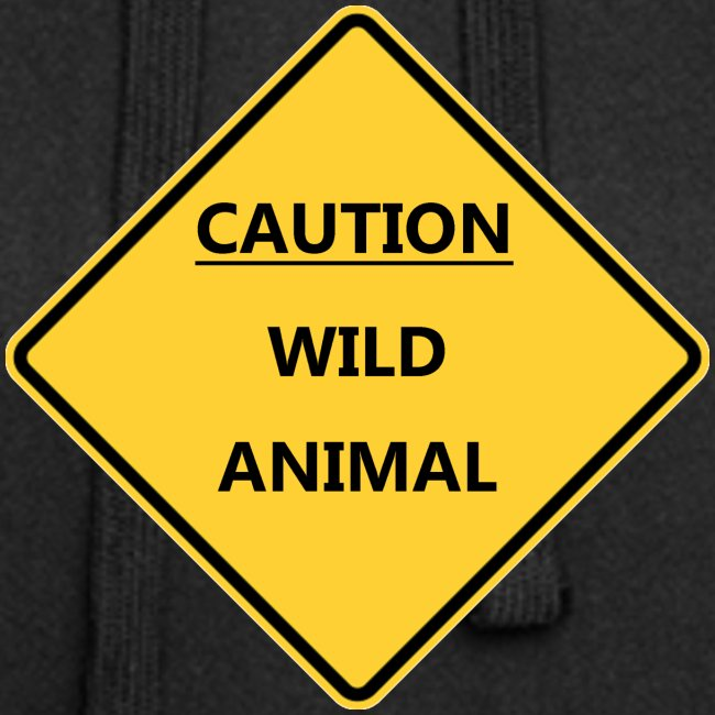 Caution Wild Animal