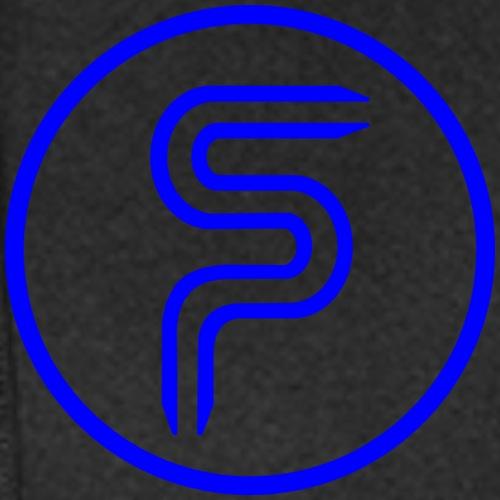Logo vorne und hinten - Hoodie-Kleid