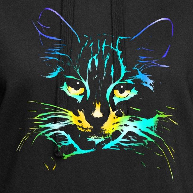 Vorschau: color kitty - Hoodie-Kleid