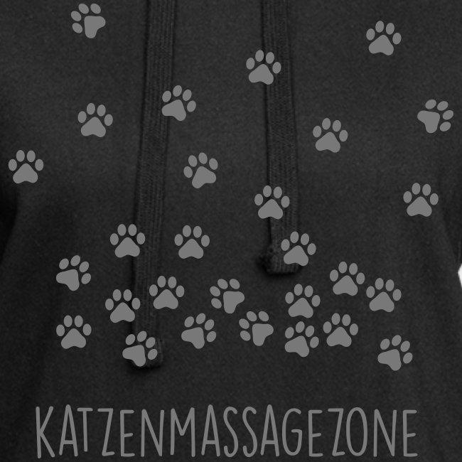 Vorschau: Katzen Massage Zone - Hoodie-Kleid