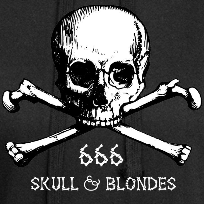 skull & blondes (white)