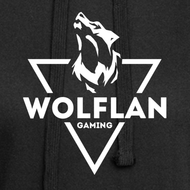 WolfLAN Logo White