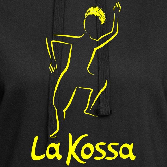 La Kossa - Unser Herz tanzt bunt - Logo Gelb