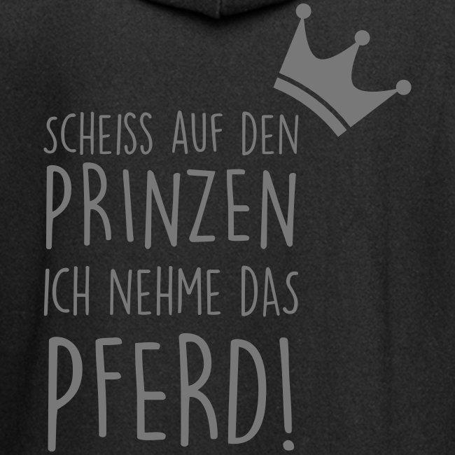 Vorschau: Prinz Pferd - Hoodie-Kleid