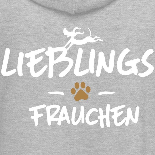 Vorschau: Lieblings Frauchen - Hoodie-Kleid