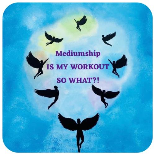 Mediumship is my Workout - Hoodie-Kleid