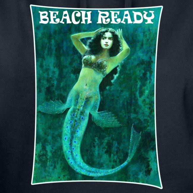 Vintage Pin-up Beach Ready Mermaid