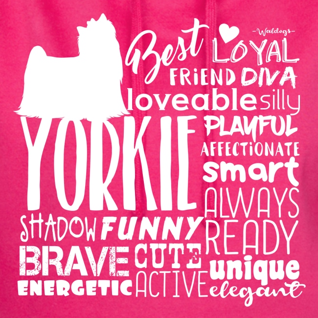 Yorkshire Terrier Words W