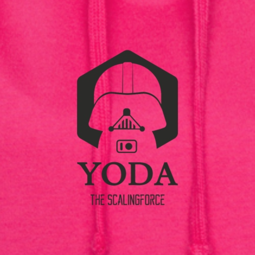 YODA the scalingforce - Hoodie-Kleid