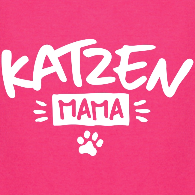 Vorschau: Katzen Mama - Hoodie-Kleid