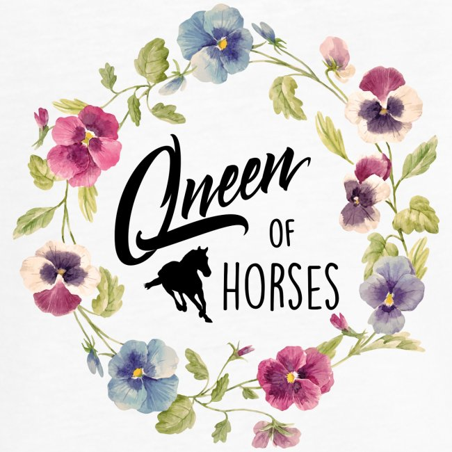 queen of horses - Frauen Vintage T-Shirt