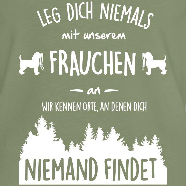 Vorschau: Unser Frauchen - Frauen Vintage T-Shirt