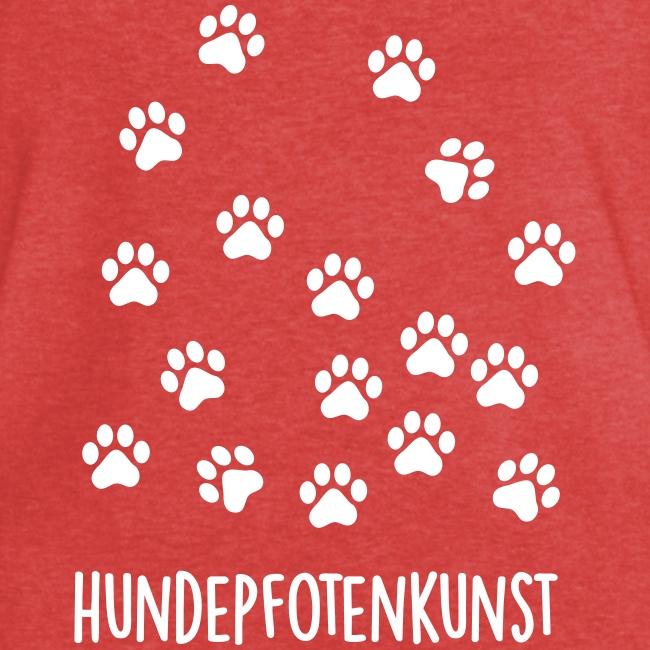Vorschau: Hundepfotenkunst - Frauen Vintage T-Shirt