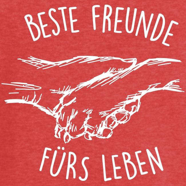 Vorschau: Beste Freunde fürs Leben - Frauen Vintage T-Shirt