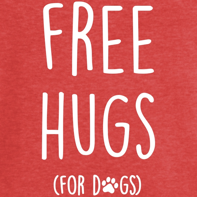 free hugs for dogs - Frauen Vintage T-Shirt
