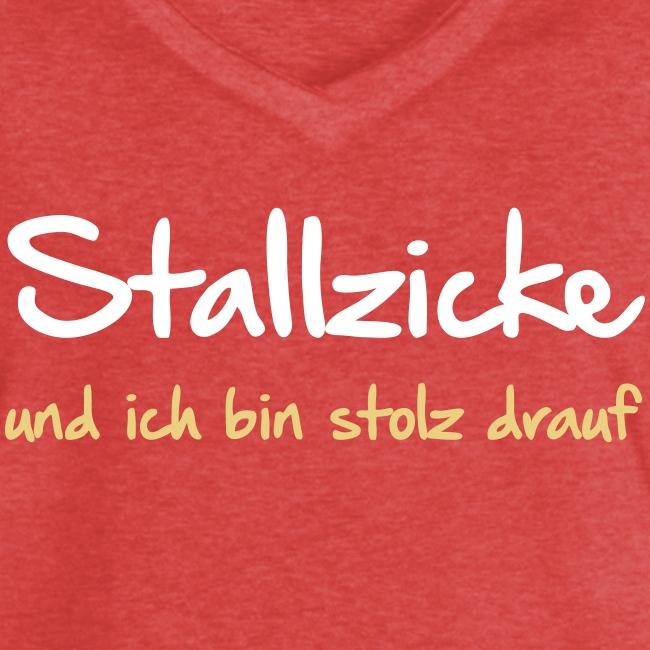 Vorschau: Stallzicke - Frauen Vintage T-Shirt