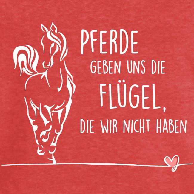 Vorschau: Pferd Flügel - Frauen Vintage T-Shirt