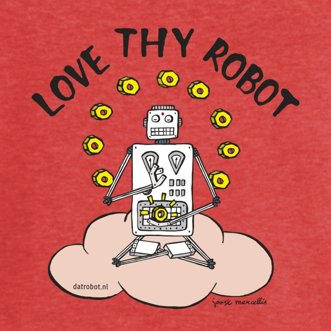 Dat Robot: Love Thy Robot Buddha Light