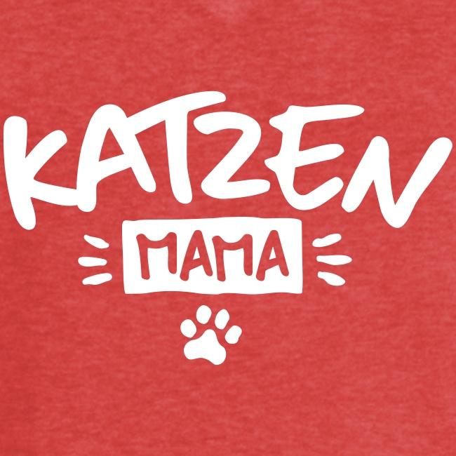 Vorschau: Katzen Mama - Frauen Vintage T-Shirt