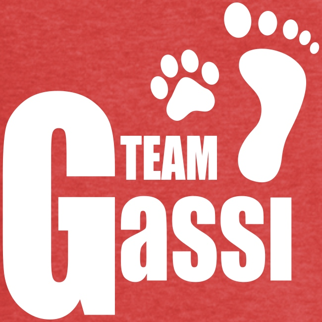 Team Gassi - Frauen Vintage T-Shirt