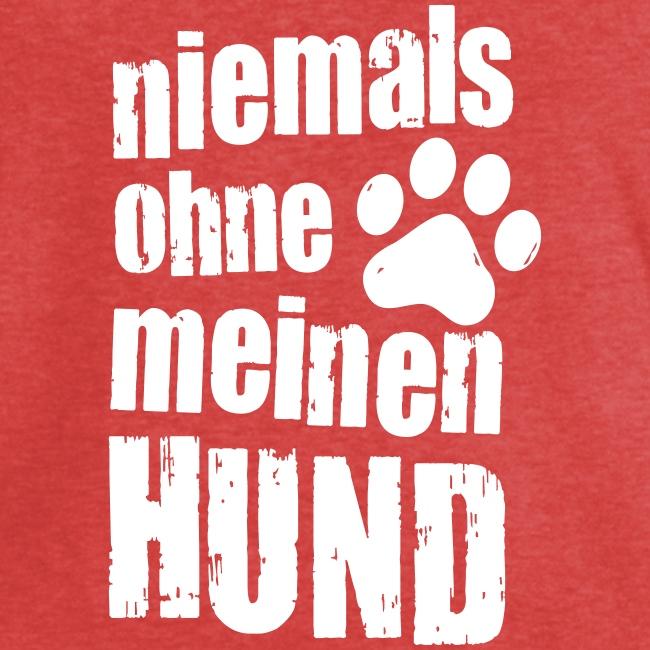 Vorschau: niemals ohne meinen hund - Frauen Vintage T-Shirt