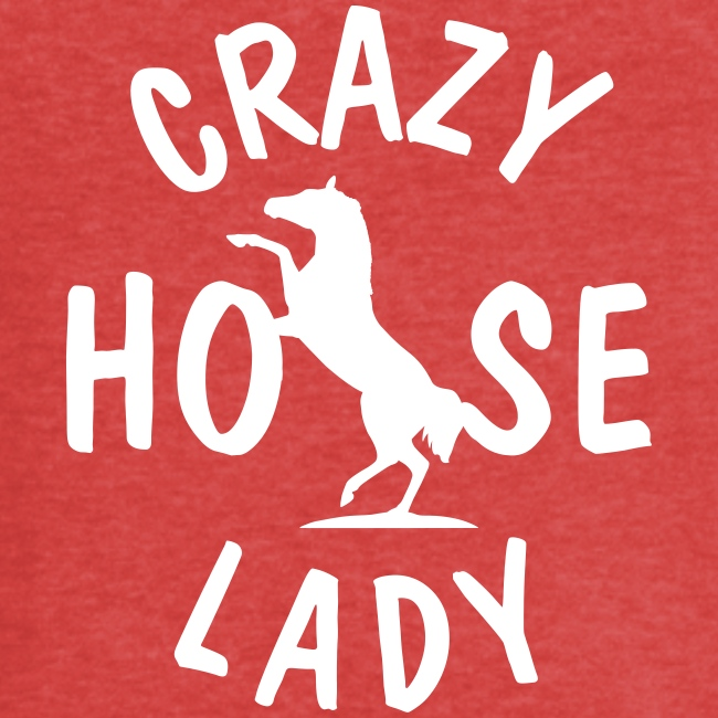 Vorschau: crazy horse lady - Frauen Vintage T-Shirt
