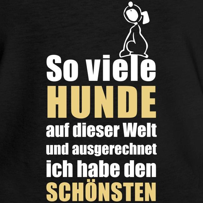 Vorschau: Der schönste HUND - Frauen Vintage T-Shirt