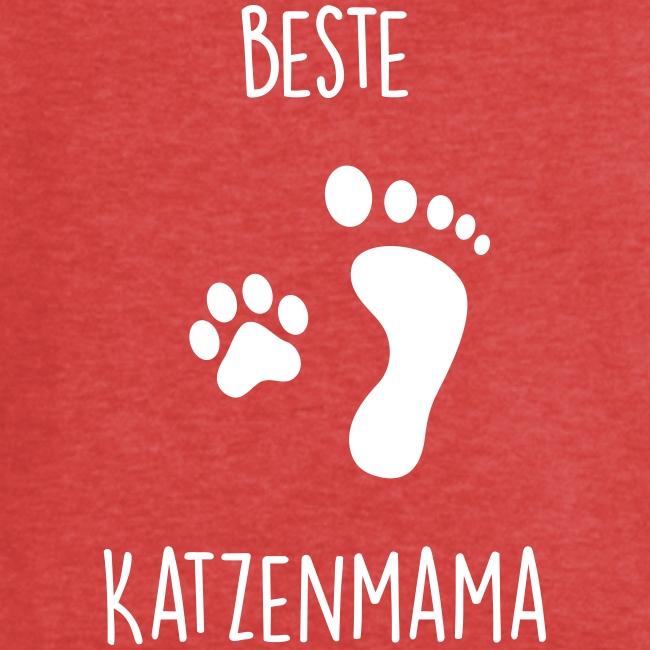 Vorschau: Beste Katzenmama - Frauen Vintage T-Shirt