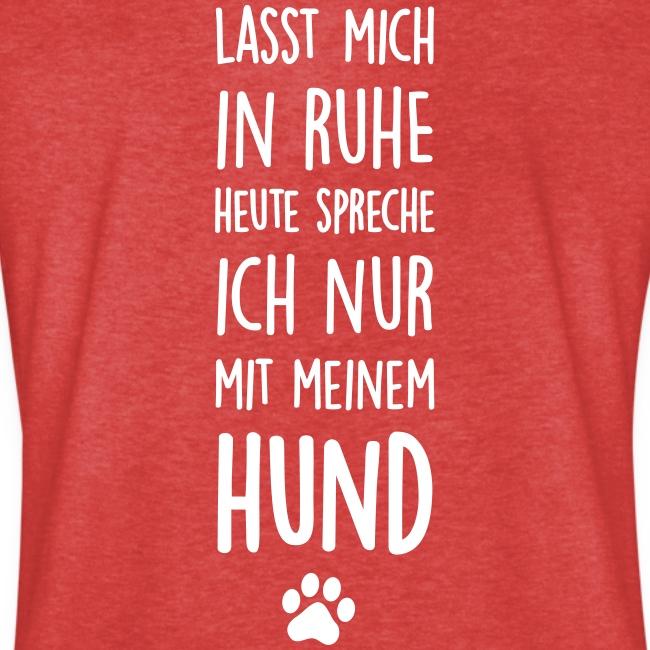 Vorschau: Lasst mich in Ruhe Hund - Frauen Vintage T-Shirt