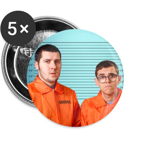Dernière fois ! - Lot de 5 grands badges (56 mm)