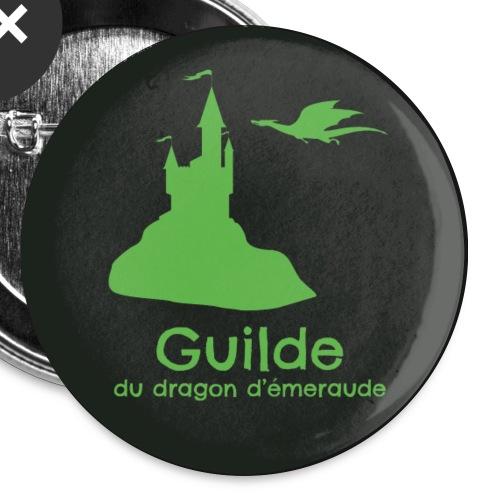 Badge Guilde - Lot de 5 grands badges (56 mm)