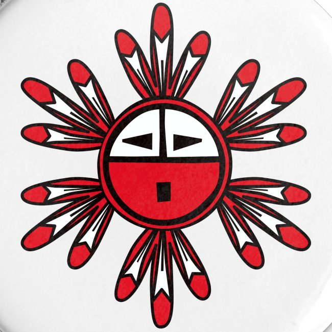 Hopi Kachina Sun Symbol