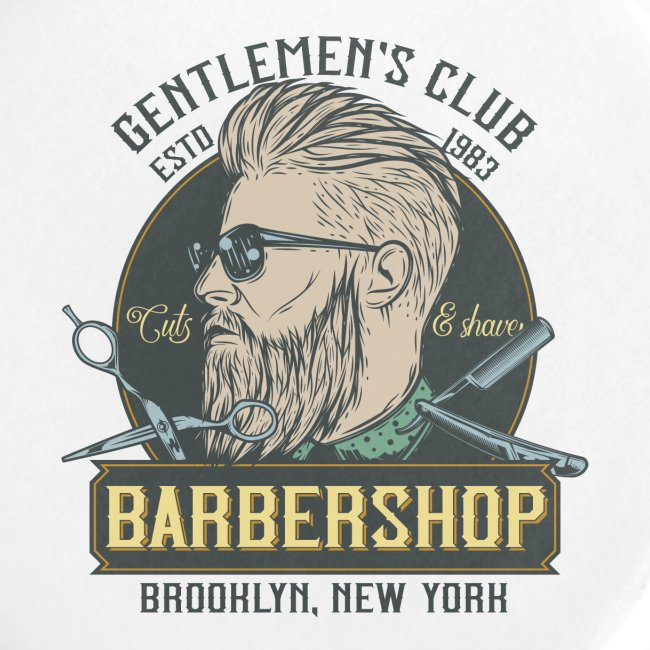 Classic barbershop font 5